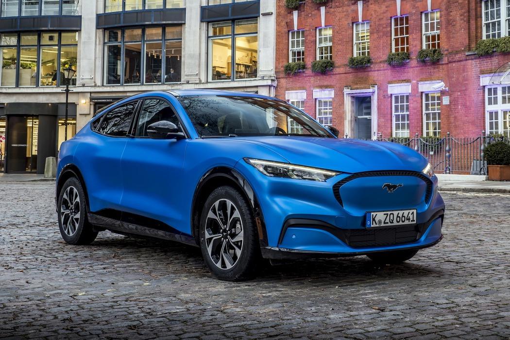 全新Ford Mustang Mach-E電動休旅 歐洲搶先美國率先上市!