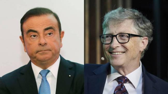 高恩(左)、比爾蓋茲(右) 美聯社