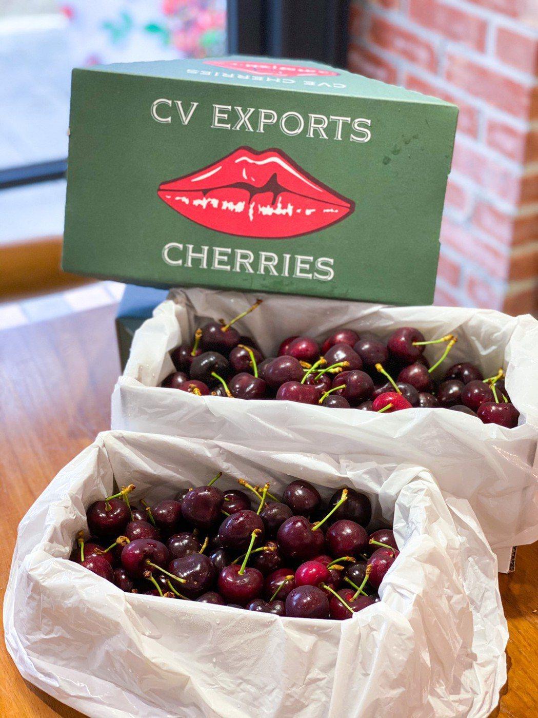 第一名首選像極紅寶石般的紐澳限量櫻桃,補血補元氣健康滿分。特智有限公司/提供