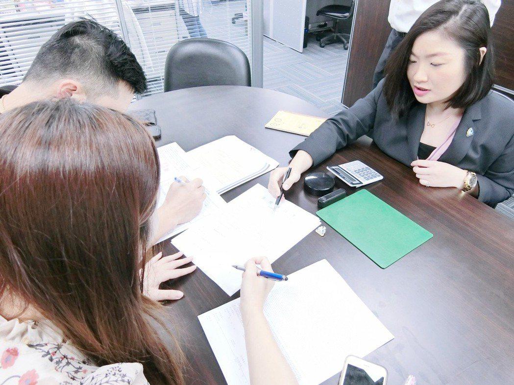 完整的和客戶解釋,讓客戶更能明白自身的權益。E定貸/提供
