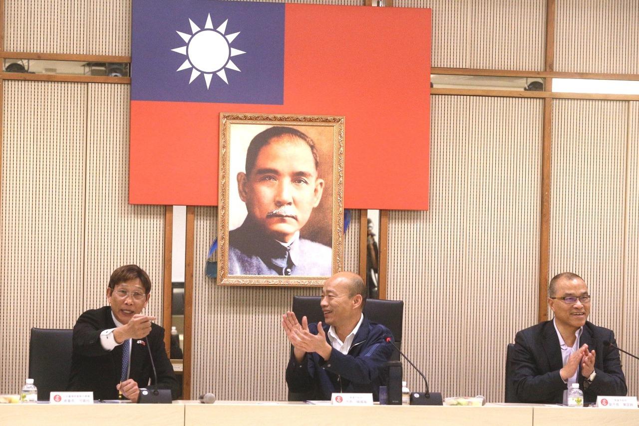 日本台商會訪高市府 成員要罷韓者摸摸良心 | 聯合新聞網:最懂你的新聞網