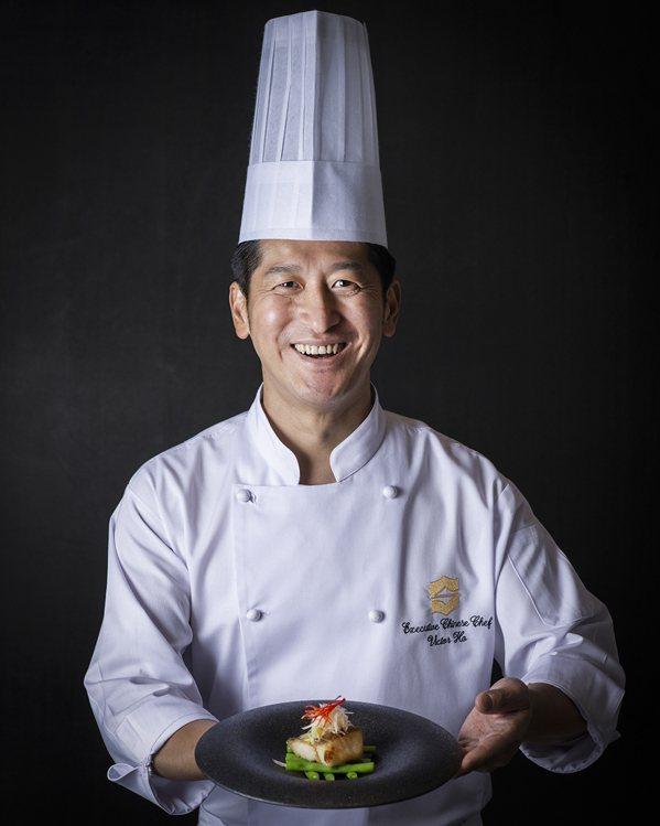 香格里拉台北遠東-新任中餐行政主廚何競業。