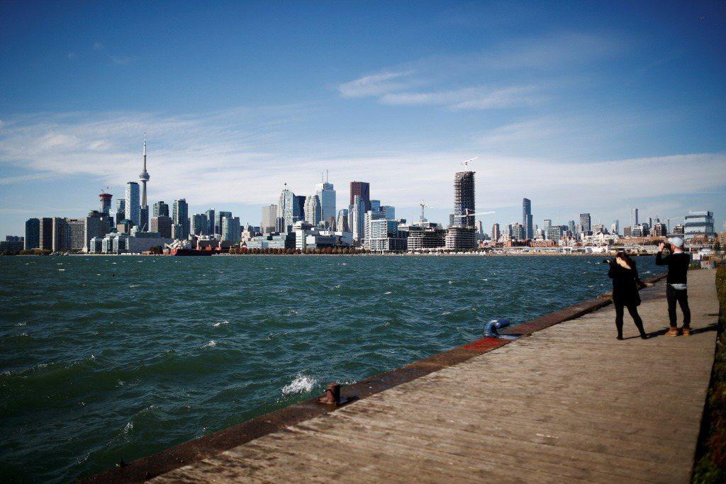 由Alphabet出資成立的Sidewalk Labs,於多倫多建立智慧水岸新城。 圖/路透社