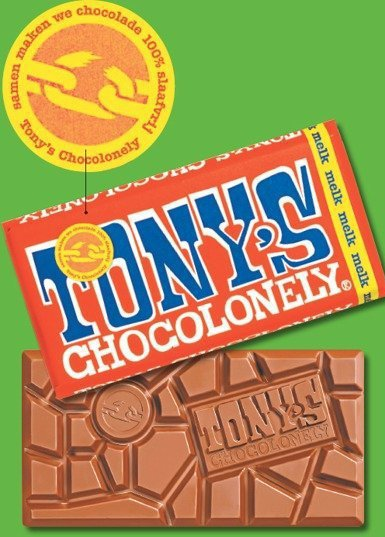 扯斷鎖鍊標章,是東尼巧克力的對抗宣言。 圖/東尼寂寞巧克力提供