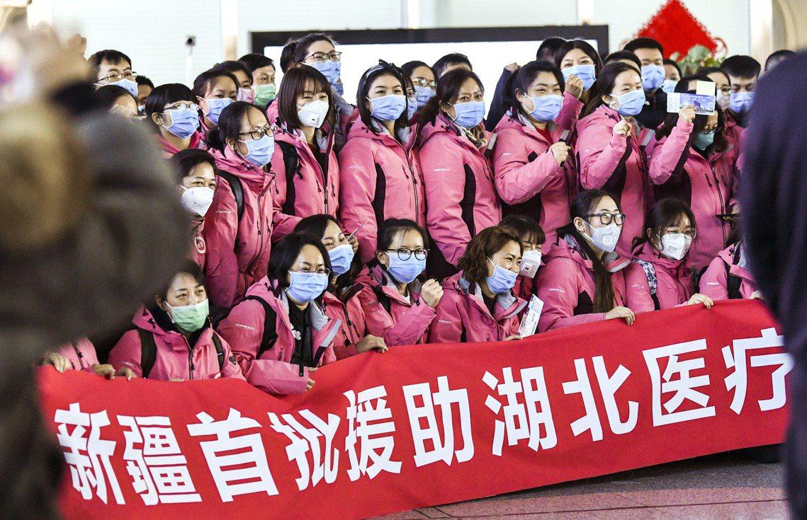 截至2020年2月12日0時止,中國全境確診武漢肺炎的醫護人員病例,一共1,71...