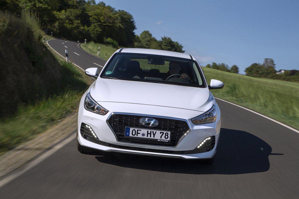 現行版第三代Hyundai i30。 摘自Hyundai