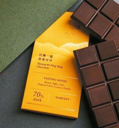福灣巧克力。 圖/福灣巧克力提供