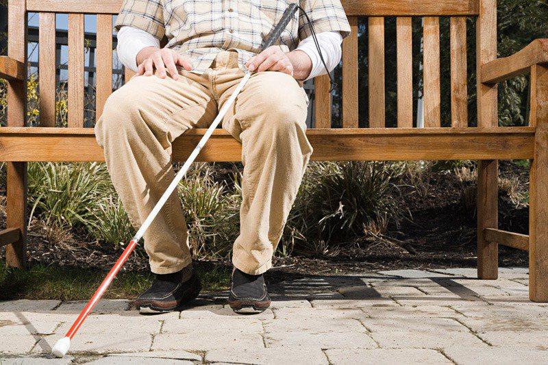男子失明20多年,車禍後左眼視力竟奇蹟恢復。示意圖/ingimage