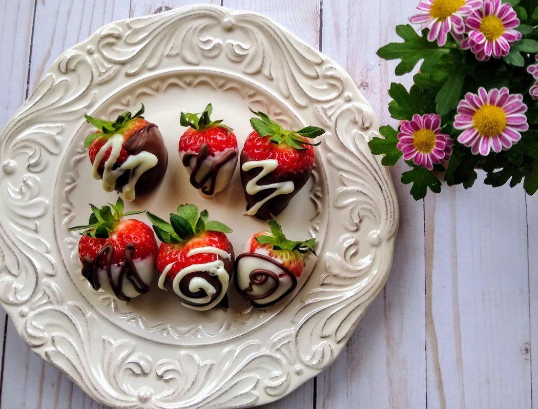 圖文:美國番媽/食譜/巧克力草莓