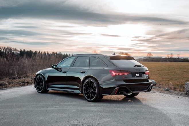 Audi RS6 Avant改得比超跑一哥R8還猛!ABT算你狠!