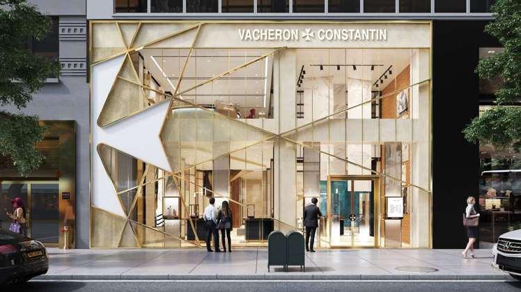 兩層樓的江詩丹頓紐約曼哈頓專賣店,預計將於2021店開設。圖╱Vacheron ...