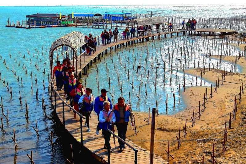 七股潟湖。圖/台南市觀光旅遊局提供