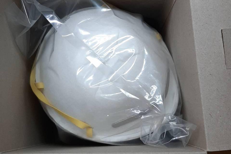 善心人士送N95口罩到醫院 醫護人員讚:最棒情人節禮物
