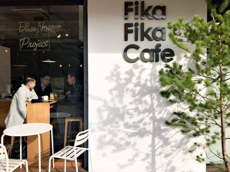 北歐盃咖啡烘焙大賽冠軍陳志煌的Fika Fika Cafe。圖/摘自Fika F...