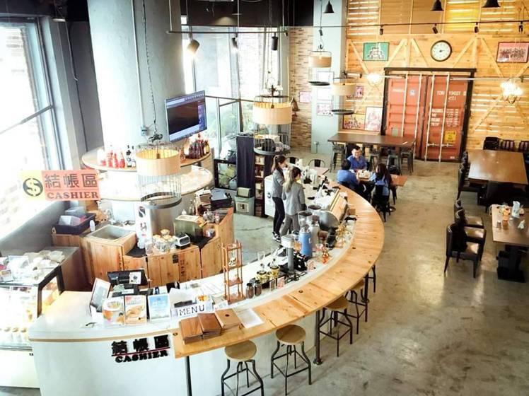 台南的首璽咖啡。圖/摘自SoSee Coffee粉絲團