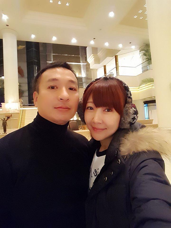 結婚23年,王中平(左)和余皓然懂得平凡過日子的幸福。圖/余皓然提供