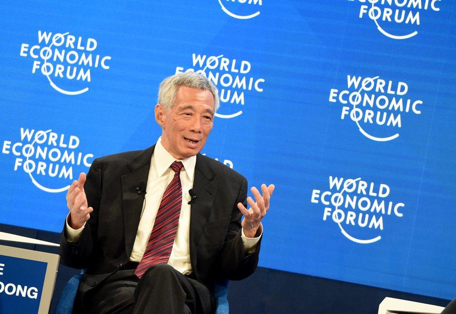 新加坡總理李顯龍。新華社