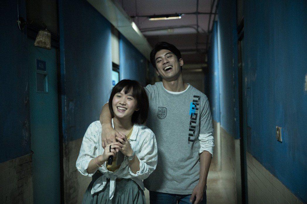 林哲熹與嚴正嵐在「女鬼橋」演熱戀情侶。圖/傳影互動提供