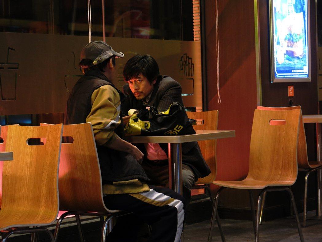 郭富城以「麥路人」再度角逐香港電影金像獎影帝。圖/華映提供