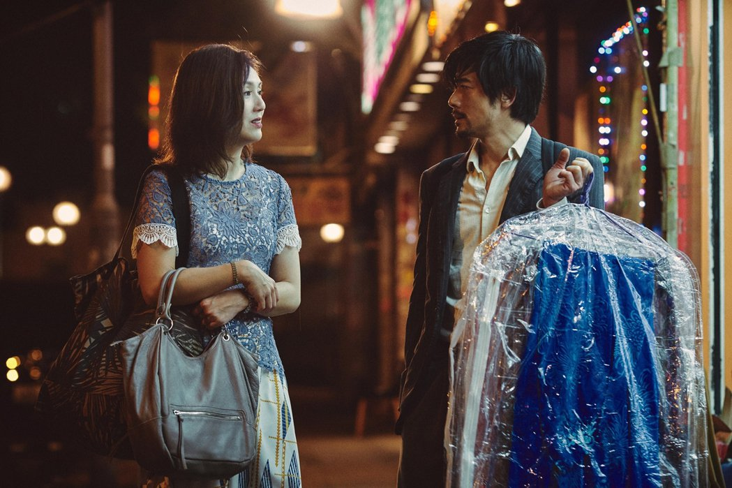 郭富城與楊千嬅在「麥路人」互飆演技,有精彩對手戲。圖/華映提供