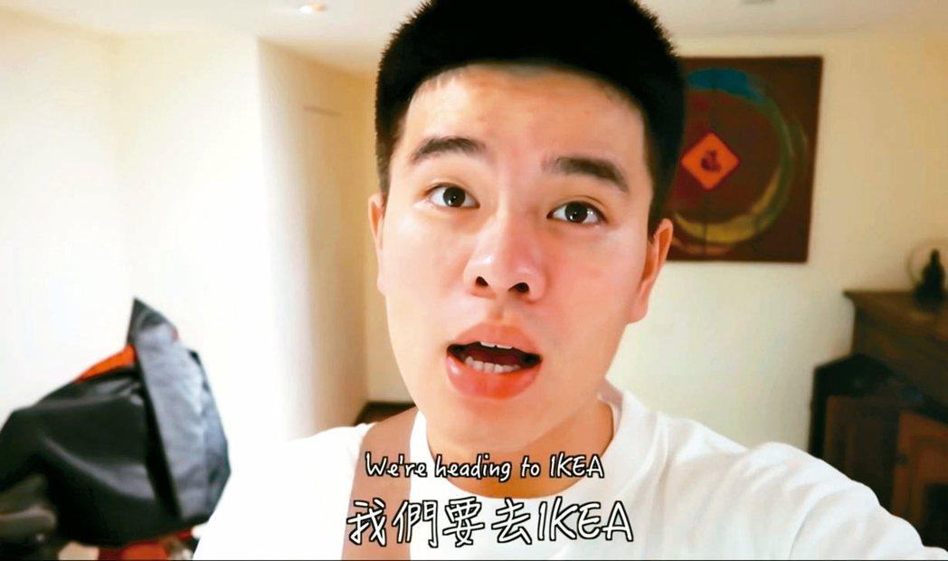 李興文的兒子李堉睿夜闖IKEA闖大禍。 圖/摘自網路