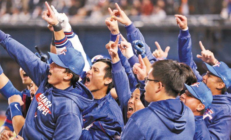 中華棒球協會秘書長林宗成表示,最快十一、十二月進行六搶一資格賽,最慢明年一月打完比賽。 圖/聯合報系資料照