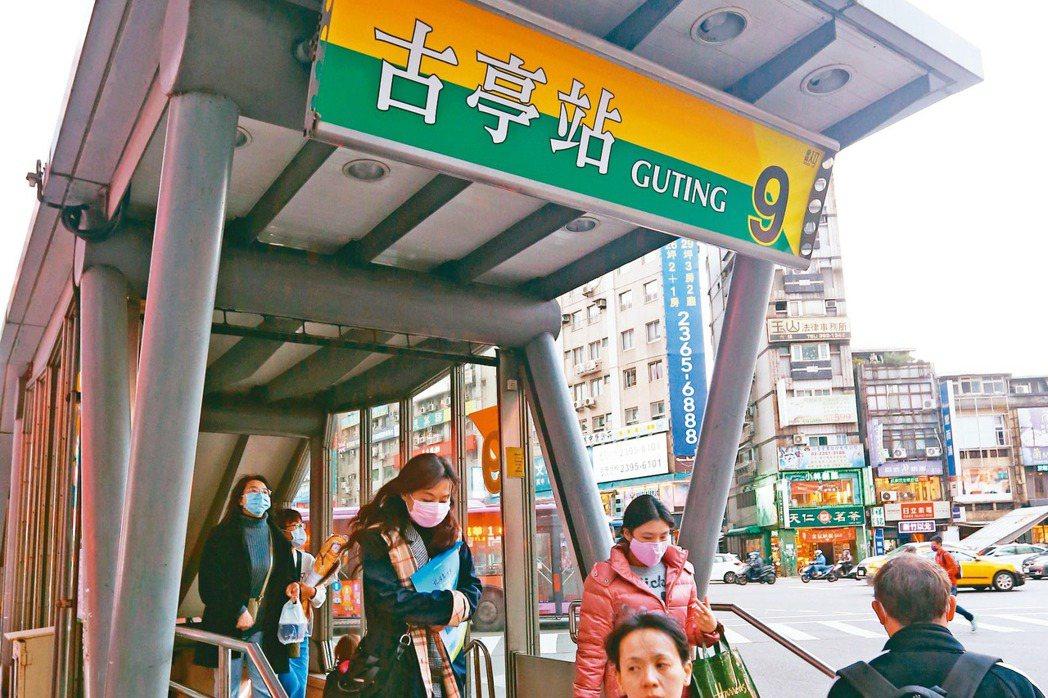捷運古亭站周邊交通便捷,沿線公車四通八達。 記者杜建重/攝影