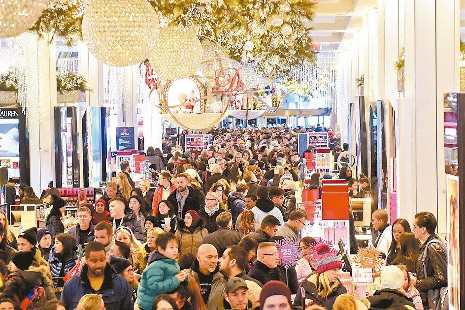 美國上月核心零售銷售零成長,顯示基礎消費者支出在今年初減緩。 美聯社