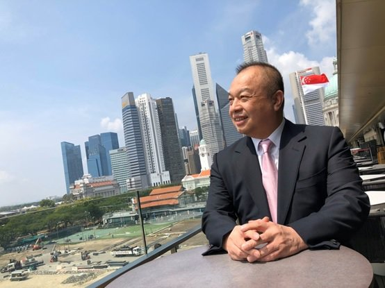 博聯生技股份有限公司董事長林憲宏。 台灣長照醫學會/提供
