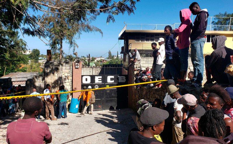 海地一間孤兒院大火,奪走15名孩童生命。 美聯社
