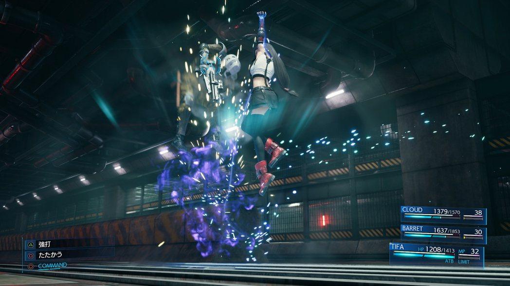 「強打」:用上勾拳將敵人打上空中。