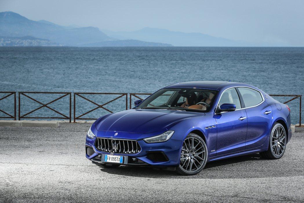 小改款Ghibli將會搭載Hybrid油電混合動力。 摘自Maserati