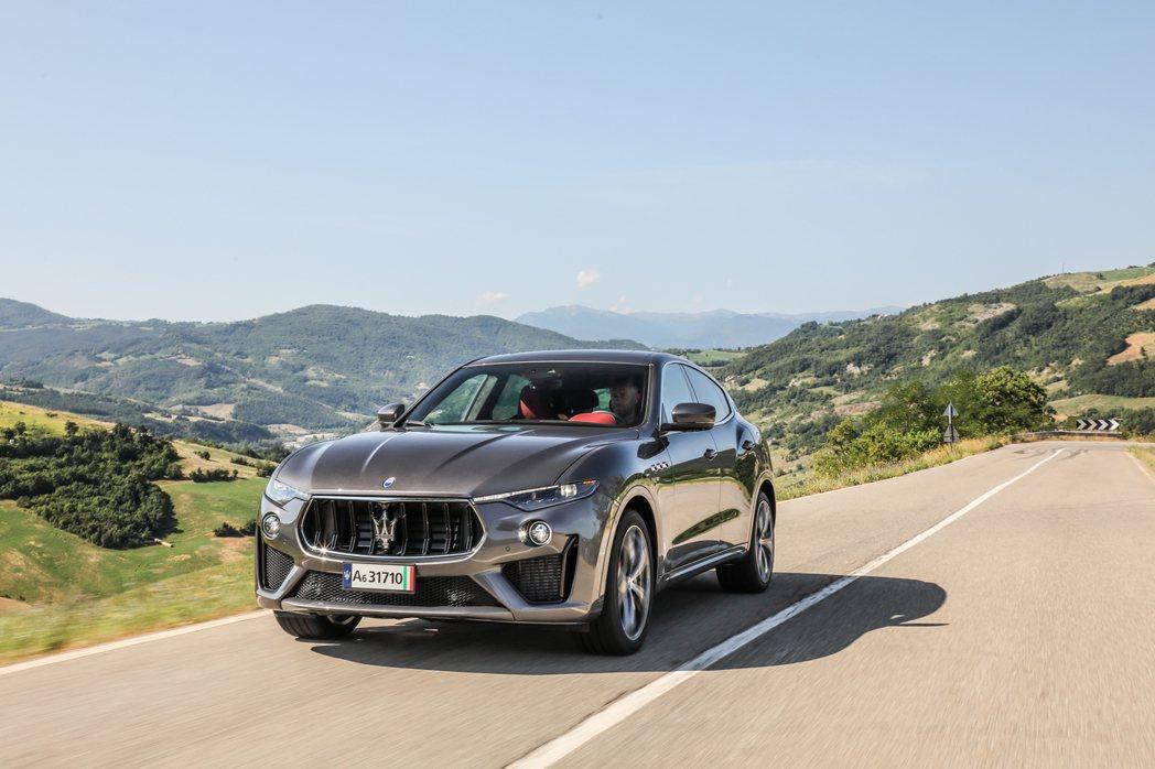 Maserati第一款休旅Levante。 摘自Maserati