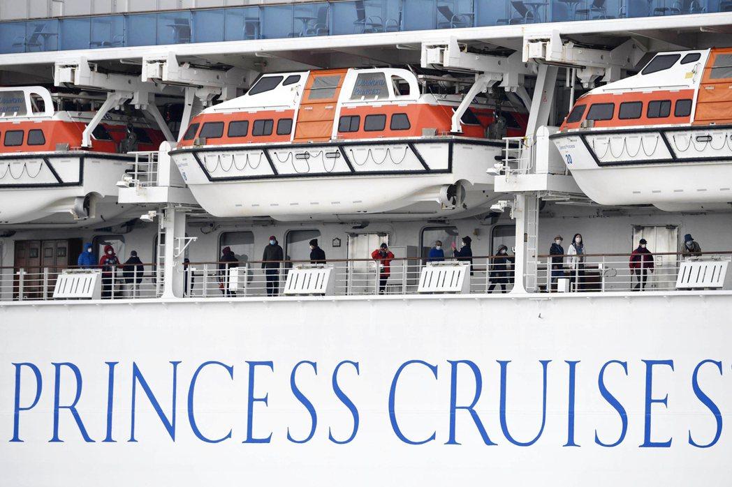 鑽石公主號等郵輪對乘客採取隔離的報導傳遍全球。圖/美聯社