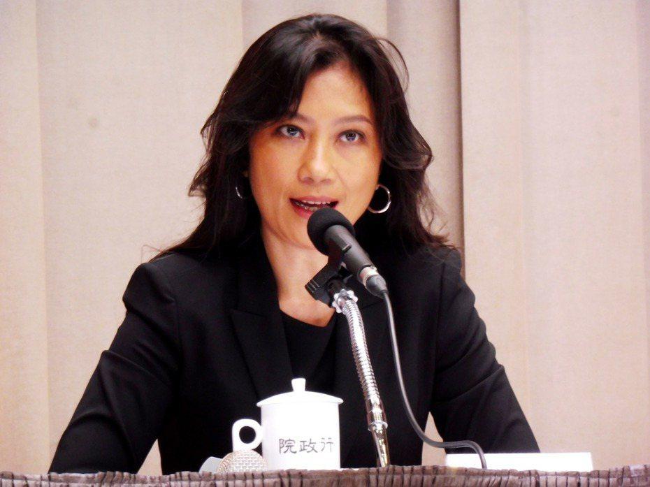 行政院發言人Kolas Yotaka。圖/聯合報系資料照片