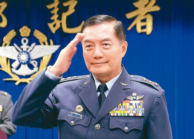 沈一鳴是空軍少數具備美國空軍戰爭學院學歷的將領。圖╱美聯社