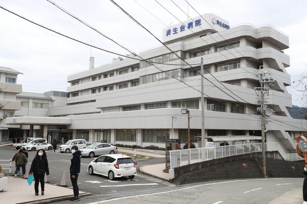 日本和歌山縣一天新增3個新冠肺炎確診病例,全都與有田市的濟生會醫院有關。路透/讀...