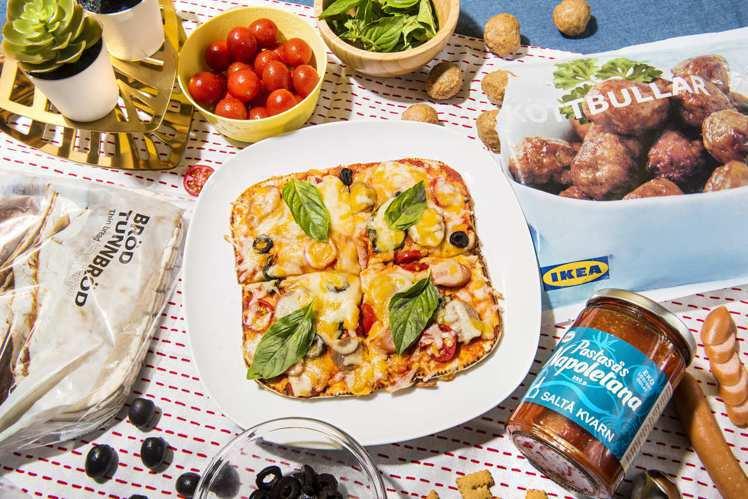 利用IKEA BRÖD TUNNBRÖD瑞典捲餅,就能輕鬆完成美味的瑞典肉丸番茄...