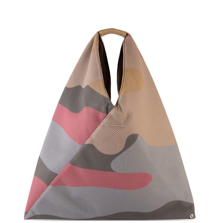 MM6 Maison Margiela迷彩Japanese Bag(大),售價8...