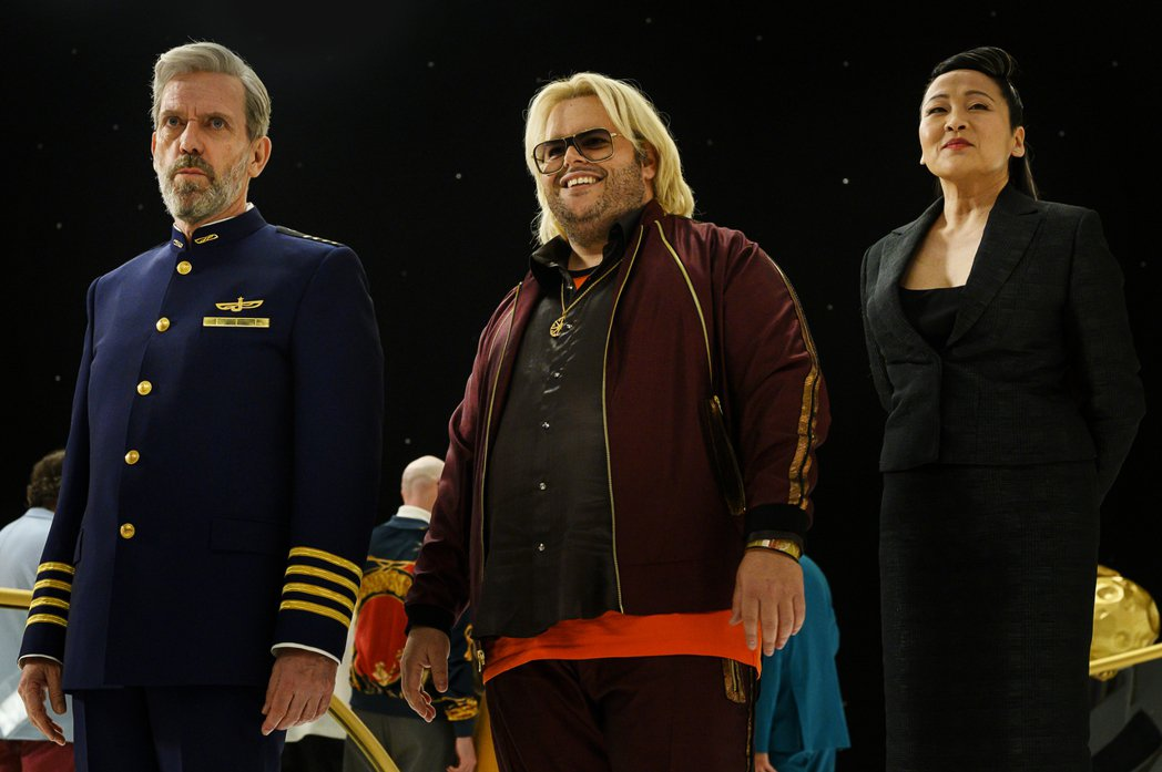 「五號大道」是黑色科幻喜劇,充滿諷刺幽默。圖/HBO提供