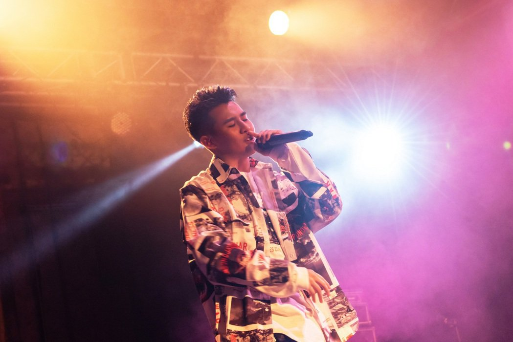 嘻哈歌手屁孩於情人節舉辦個人演唱會「屁孩感謝祭」。圖/索尼提供
