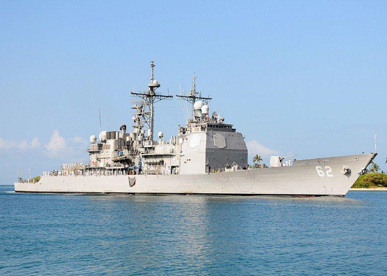 昌斯洛維爾號巡洋艦。圖/美國海軍檔案照