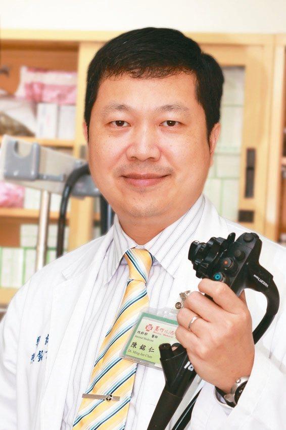 陳銘仁台北馬偕醫院胃腸肝膽科主任 圖╱陳銘仁提供