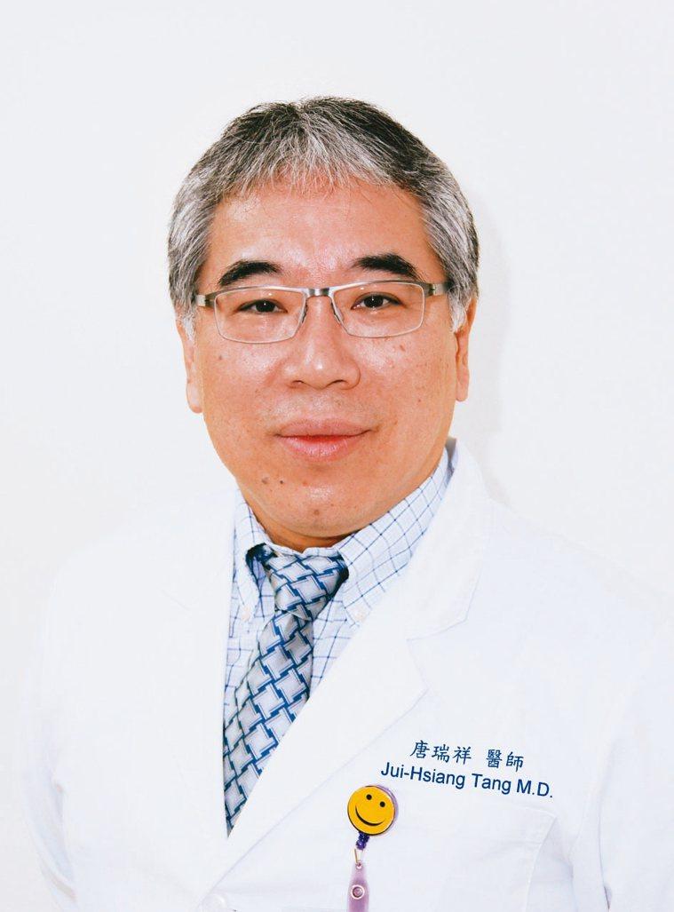 唐瑞祥台北醫學大學附設醫院消化內科主任 圖╱唐瑞祥提供