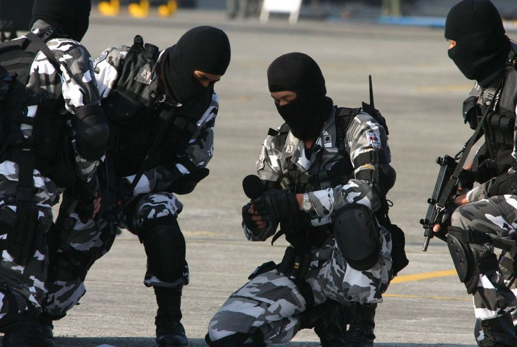 陸軍航特部特勤隊。 圖/聯合報系資料照片