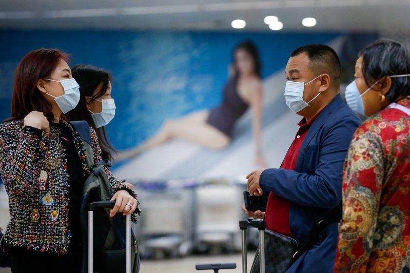 根據相關人士表示,東京都內又新增5例新冠肺炎病例。情境示意圖,非當事者。圖/歐新社