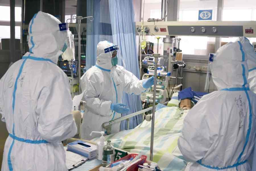 大陸新冠肺炎確診逾6.8萬例。取自星島網