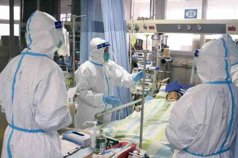 大陸新冠肺炎確診數高。取自星島網