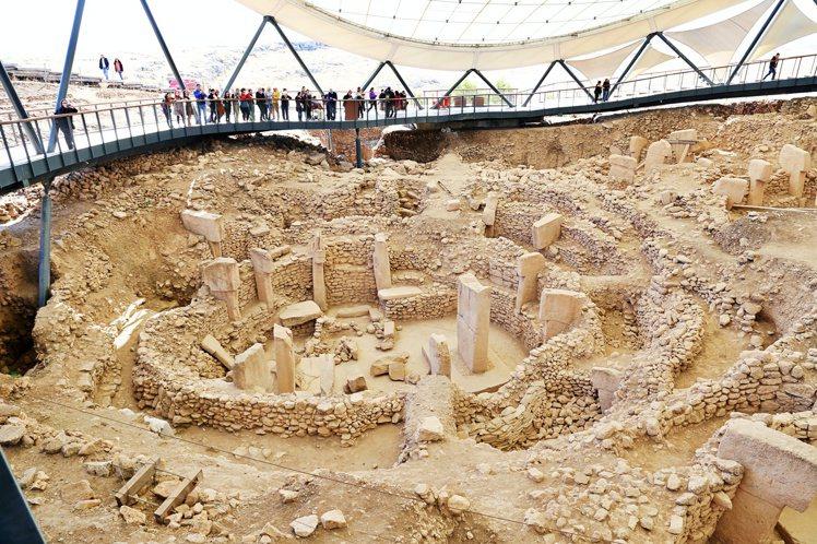 哥貝克力巨石陣比埃及金字塔、英國巨石陣還更早。記者魏妤庭/攝影