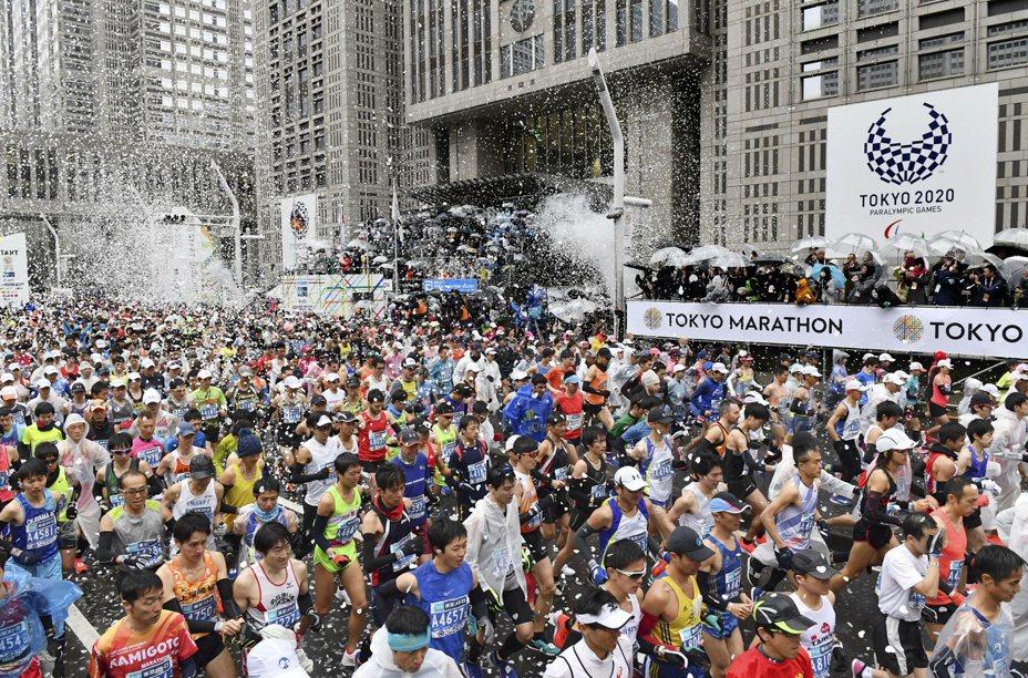 去年東京馬賽事,有全球各地好手參與,是全世界規模最大賽事之一。 美聯社